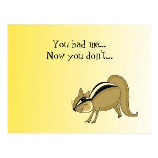 Funny Break Up Postcard
