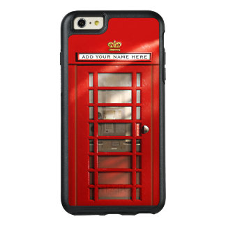 Funny British City Of London Red Phone Booth OtterBox iPhone 6/6s Plus Case