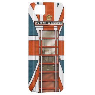 Funny British Flag Classic Phonebox iPhone 5 Cover