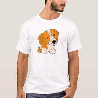 Funny Brittany Spaniel Puppy Dog Art T-Shirt