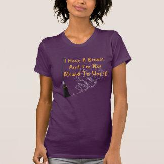 Funny Broom Halloween Shirt
