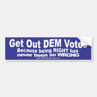 Funny bumper stickers for Democrats