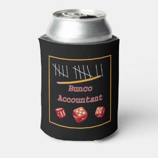 Funny Bunco Dice - Bunco Accountant Can Cooler