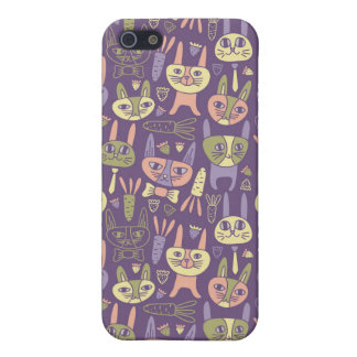 Funny Bunnies iPhone Case Case For The iPhone 5