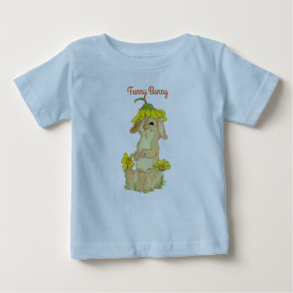Funny Bunny Fine Baby T-Shirt