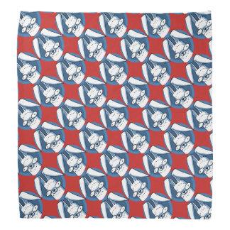 funny bunny sweet rabbit cartoon bandana