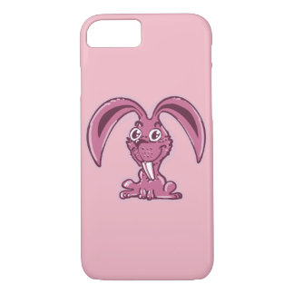 funny bunny sweet rabbit cartoon Case-Mate iPhone case
