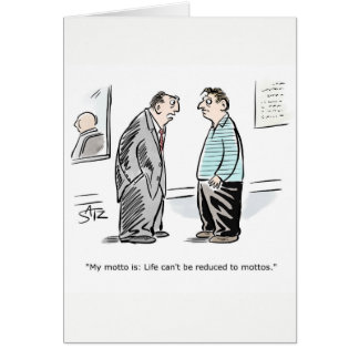 Funny business congratulations card