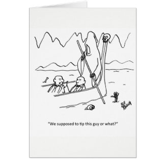 Funny Business Etiquette Humor Card