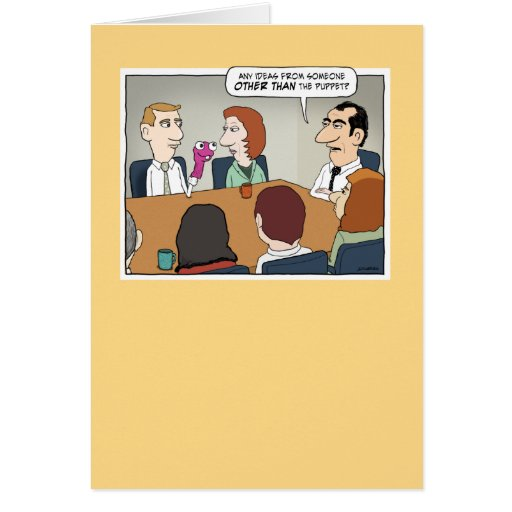 meeting card