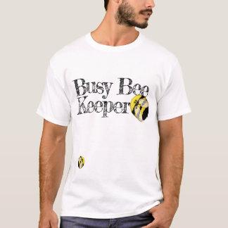 Funny Busy Beekeeper Cute Bumblebee T-Shirt