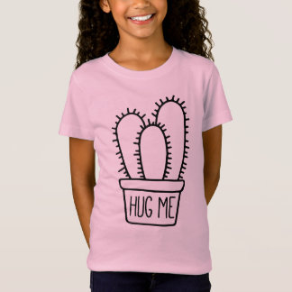 Funny Cactus Quote Hug Me T-Shirt