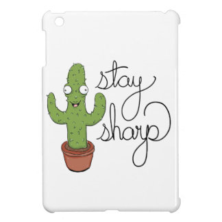 Funny Cactus Stay Sharp Character Case For The iPad Mini