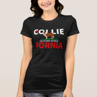 Funny California Collie For Nia T-Shirt