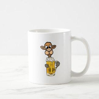 Funny Camel Drinking Beer Design Coffee Mug