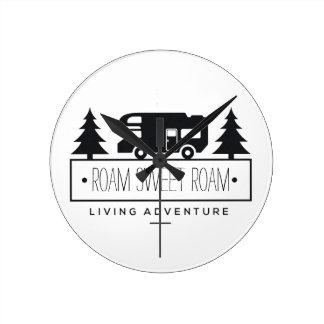 Funny Camper RV Home | Retired RVer Rving Roam Round Clock