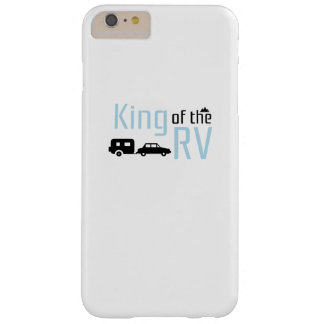 Funny Camping Roadtrips Vacation King of the RV Barely There iPhone 6 Plus Case