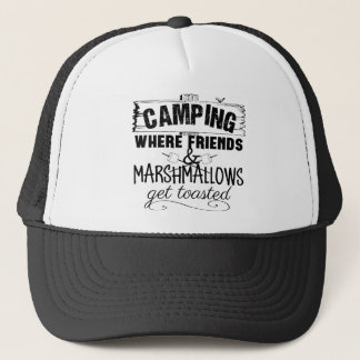 Funny Camping Saying Shirts Trucker Hat