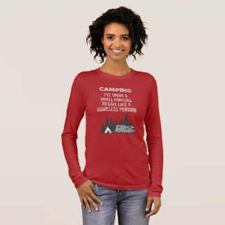 FUNNY CAMPING T-SHIRT FOR CAMPER