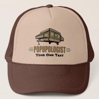 Funny Camping Trucker Hat