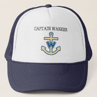 "Funny ""Captain Wanker"" Trucker Hat"