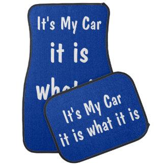 Funny Car Mats Set