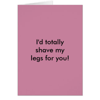 Funny card for him