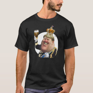 Funny caricature Willem-Alexander t-shirt