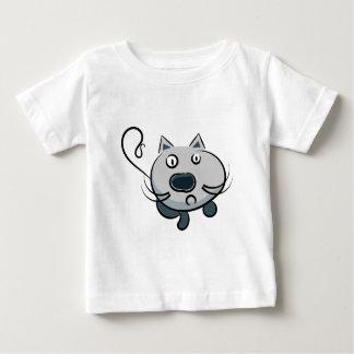 Funny cartoon animation cat illustration tshirts