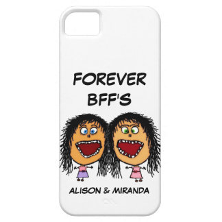 Funny Cartoon Best Friends BFF's iPhone 5 Covers