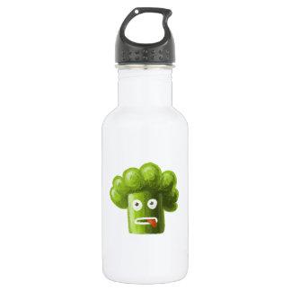 Funny Cartoon Broccoli 532 Ml Water Bottle