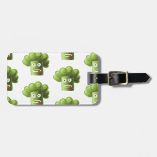 Funny Cartoon Broccoli Pattern Personalized Bag Tag