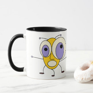 Funny Cartoon Bugs Design Mug