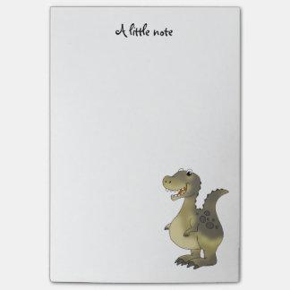 funny cartoon dinosaur post-it notes