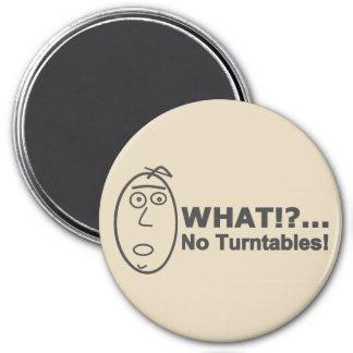 Funny Cartoon DJ 3 Inch Round Magnet