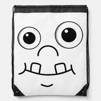 Funny Cartoon face Backpack