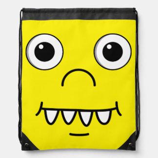 Funny Cartoon face Backpacks