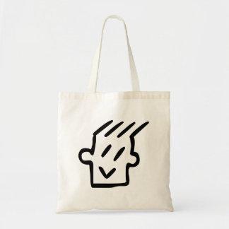 Funny Cartoon Face Bags