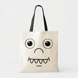 Funny Cartoon face Bag