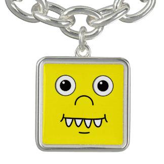 Funny Cartoon face Charm Bracelets