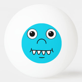 Funny Cartoon face Ping Pong Ball