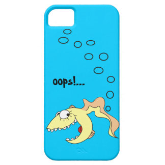 Funny Cartoon Fish Fart iPhone 5 Case