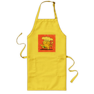 Funny Cartoon | Funny Kitty Chef Apron