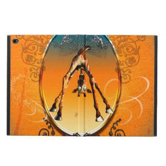 Funny cartoon giraffe powis iPad air 2 case