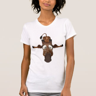 Funny Cartoon Giraffe T-Shirt