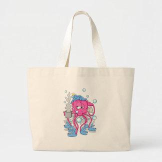 Funny Cartoon Octopus Bag