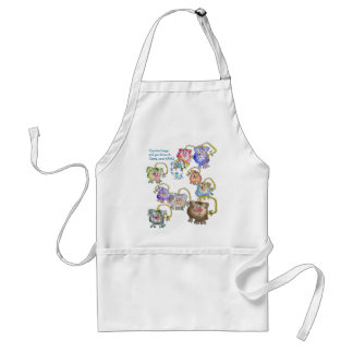 Funny Cartoon Pig Apron