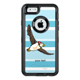 Funny Cartoon Puffin Wearing A Hat OtterBox iPhone 6/6s Case