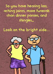 Old age cards photocards invitations more funny cartoon seniors discount old age birthday card bookmarktalkfo Gallery