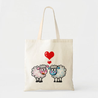 Funny cartoon sheeps, Wedding couple